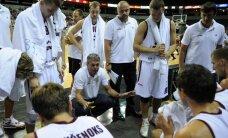 Latvijas basketbolistiem neizdodas vēlreiz uzvarēt Krieviju