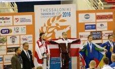 Латвийские мастера таэквондо привезли с ЧЕ полный комплект наград