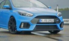 'Ford Focus RS' mediju pasākums trasē '333'