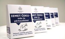 VID akcijā 'Iemet čeku – mēs to pārbaudīsim!' aicina ķert nodokļu nemaksātājus