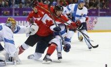 Kanādas izlase papildlaikā izrauj uzvaru pār Somiju