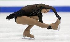 Daiļslidotāja Kučvaļska ar jaunu Latvijas rekordu Eiropas čempionātā izcīna ceturto vietu
