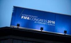 Pasaules futbols jaunas dzīves priekšvakarā - FIFA vēl jauno prezidentu