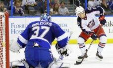 Gudļevskis atvaira 17 no 18 metieniem un palīdz 'Lightning' uzvarēt pārbaudes spēlē