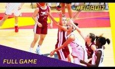 Latvijas U-17 meiteņu basketbola izlases galvenā trenere Alilujeva: nebijām gatavas tiesāšanas īpatnībām