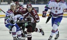 Rīgas 'Dinamo' ar 'skaistu zaudējumu' turpina attālināties no Gagarina kausa izcīņas