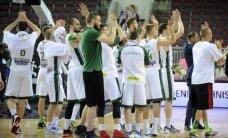 Vienmēr kopā ar komandu. 'Valmiera/ORDO' fani Rīgā komandai ļauj justies kā mājās