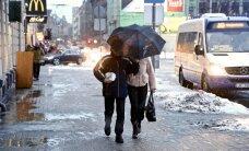 Sestdiena būs lietaina; stiprākais vējš gaidāms Kurzemē