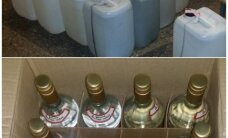 Rīgā atrod nelikumīgu alkohola slēptuvi; izņemta tonna spirta