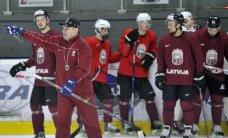 Latvijas izlases vārtus pirmajā spēlē pret Dāniju sargās 'dānis' Muštukovs
