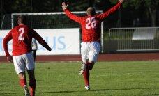 'Spartaks' futbolisti uzvar 'Ogri' un iekļūst Latvijas kausa pusfinālā