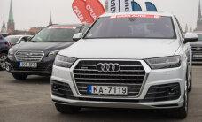 Sīva cīņa starp 'Audi Q7' un 'BMW X6' interneta balsojumā par 'Latvijas Gada auto' simpātiju