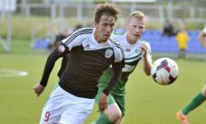 Dāvis Ikaunieks trešo reizi kļūst par futbola virslīgas apļa labāko jauno spēlētāju