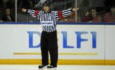 Latvijas hokeja tiesnesis Odiņš izvēlēts darbam Gagarina kausa finālā