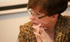 Kalniete: man ir kauns, ka Straujumu 'noraka' pašas partijas vadība