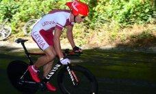 Latvija saņem divas vietas dalībai Rio olimpiskajās spēlēs šosejas riteņbraukšanā