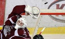 'Rīgas' hokejisti pēcspēles metienu sērijā pārtrauc zaudējumu sēriju