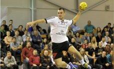 Latvijas handbolisti kvalificējās PČ kvalifikācijas turnīra izslēgšanas spēlēm