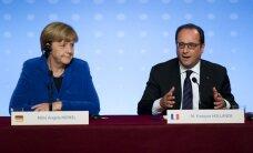 Video: Francijas un Vācijas līderu vēsturiskā uzruna Strasbūrā