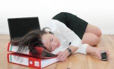 Trīs mazāk zināmi iemesli, kāpēc darbā piemeklē izdegšana