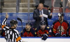 Floridas 'Panthers' pagarina līgumu ar galveno treneri