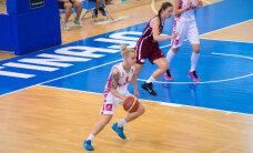 Latvijas U-20 basketbolistes izšķirošajā cīņā par EČ ceturtdaļfinālu zaudē Polijai