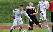 Latvijas U-21 futbola izlase droši pieveic Moldovu