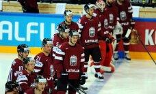 Latvijas hokejisti lūkos PČ izcīnīt pirmo uzvaru