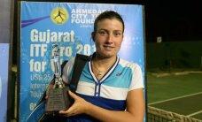 Две латвийские девушки стремительно мчатся вверх по рейтингу WTA