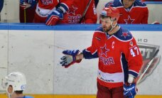Radulovs un Mozjakins nosaukti par KHL Zvaigžņu spēles konferenču komandu kapteiņiem