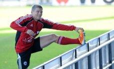 Cauņa iekļauts Latvijas futbola izlases kandidātu vidū pirms spēlēm ar Turciju un Čehiju