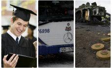 19 января. Молодежь зовут на стипендию в 1000 евро; на Украине продолжаются бои; в Риге подорожают проездные