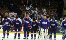 Austrijas, Korejas un Slovēnijas hokejisti kandidē uz vietu elitē