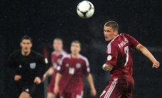 Kamešs aizstājis Ikaunieku Latvijas futbola izlases kandidātu sarakstā