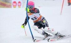 Kalnu slēpotājai Āboltiņai uzvara FIS slalomā Norvēģijā