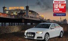 Jaunais 'Audi A4' atzīts par 'What Car?' gada auto