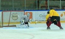 Latvijas izlases vārtus spēlē pret Japānu sargās Masaļskis