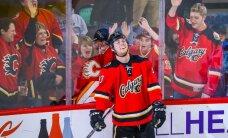 19 gadus vecais Benets gūst četrus vārtus NHL mačā