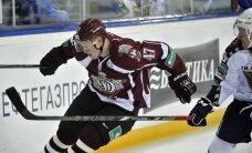 Rīgas 'Dinamo' lūko tikt pie punktiem arī ceturtajā izbraukuma sērijas spēlē