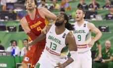 Spānija Pasaules kausā basketbolā sakauj Brazīliju