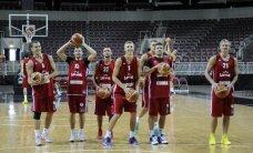 Latvijas vīriešu basketbola izlase aizvada pārbaudes spēli pret Krieviju