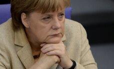 Pie Merkeles biroja Vācijas ziemeļos atstāta cūkas galva
