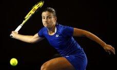 ФОТО: Севастова уступила экс-первой ракетке мира, Остапенко проиграла в паре