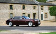 Pārdos 'Trasta komercbankas' transportlīdzekļus, arī 'Rolls Royce Ghost'