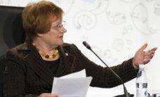 Somijas prezidente: steidzami jāglābj Baltijas jūra