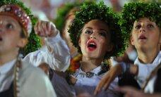 Fotoreportāža: Dziesmu svētku noslēguma koncerts 'Līgo'