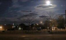 Video: ASV debesis izgaismo spožs meteors