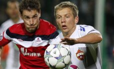 Traumu nomocītais Cauņa pagarinājis līgumu ar CSKA līdz 2019.gadam