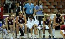 Latvijas basketbolistes paliek astotās Eiropā