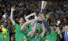 'Panathinaikos' basketbolisti sesto reizi triumfē Eirolīgā